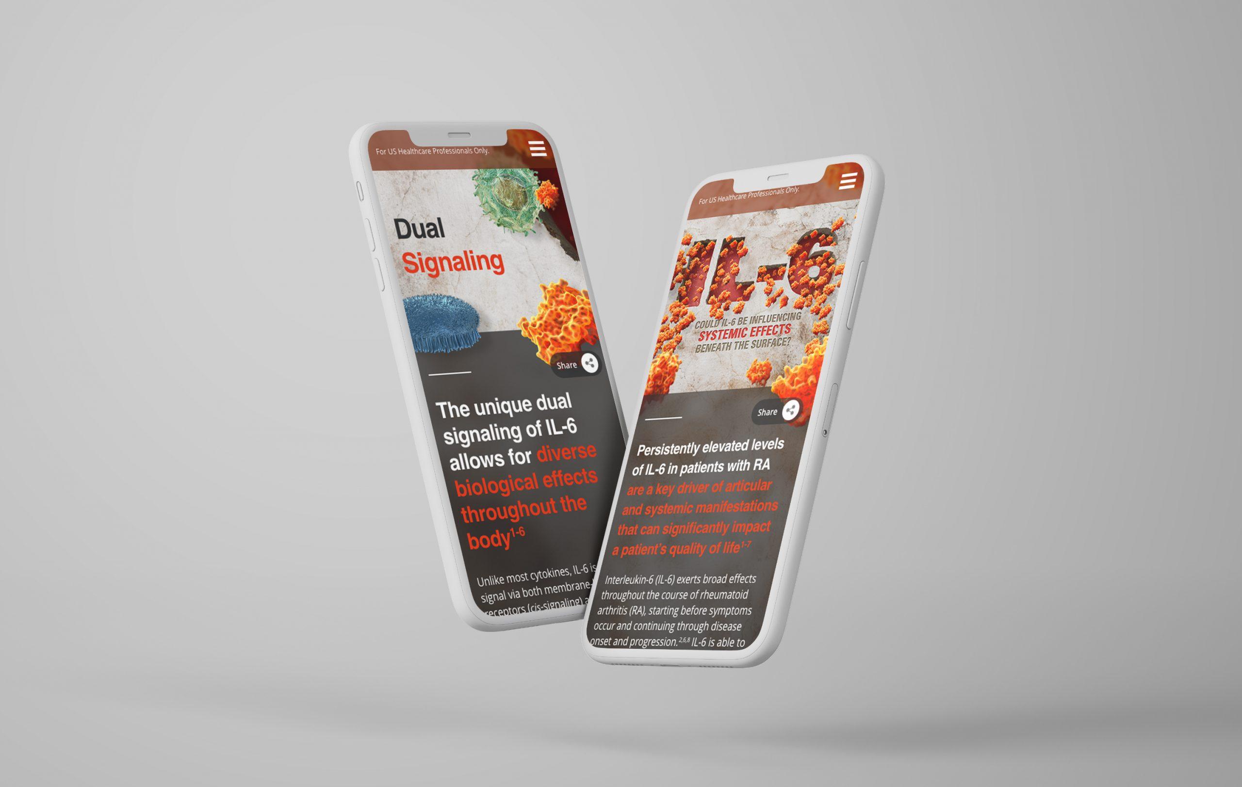 Flying iPhone X Mockups